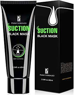 Piero Lorenzo Blackhead Remover Mask, Blackhead Peel Off Mask, Face Mask, Blackhead Mask, Black Mask Deep Cleansing Facial Mask for Face Nose 60g