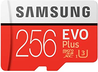 Samsung EVO Plus 256GB microSD with Adapter
