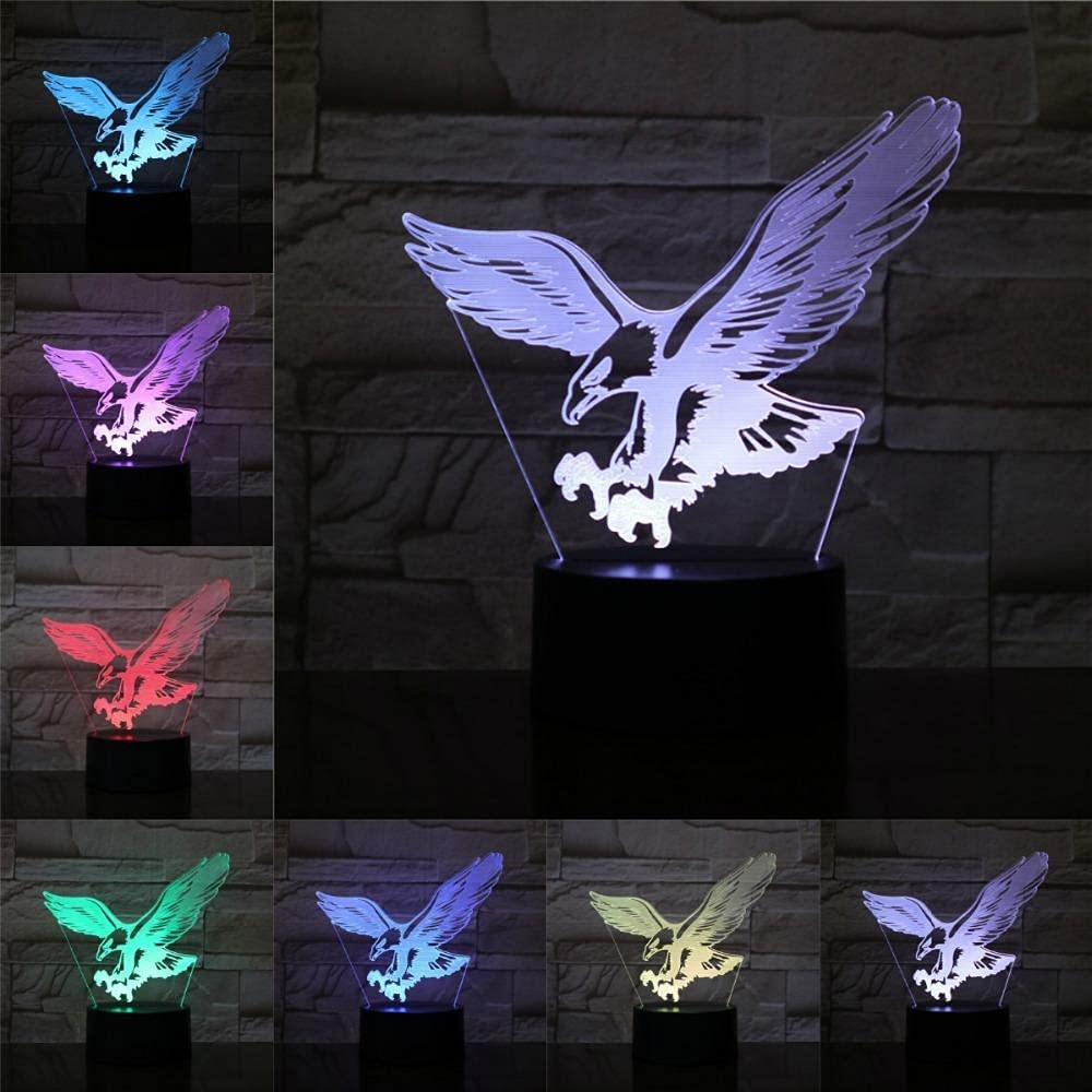 BOHML Night Lights Nursery Popular Eagle Touch 7 Colors Fort Worth Mall Chi