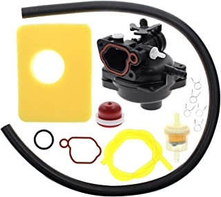Carbhub 799583 Carburetor for Briggs & Stratton 799583 Lawn Mower Edger Outdoor Equipment 09P602 9P602 500E Series OVH 4-Cycle Vertical Engine with Seal - 799583 Carburetor with Air Filter Fuel Filter