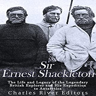 Sir Ernest Shackleton cover art