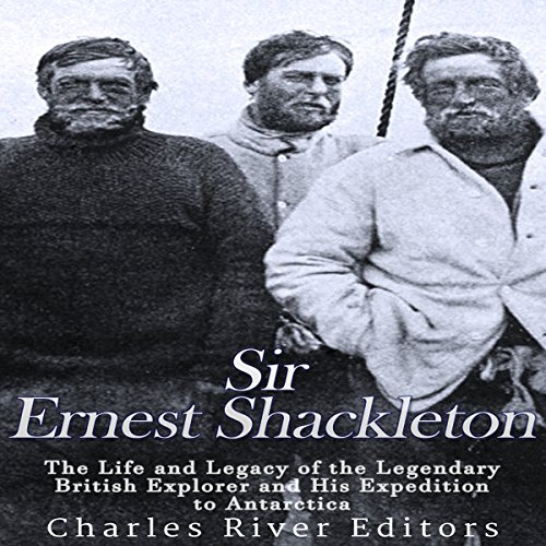 Sir Ernest Shackleton audiobook cover art