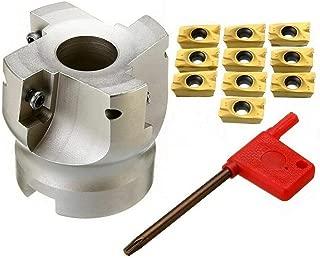 1PCS BAP400R-50-22-4T 50MM CNC Face End Mill Milling Cutter +10pcs APMT1604 Carbide Inserts