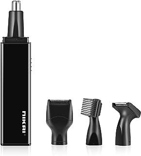 Cortapelos Nariz y Orejas, Recortador de pelo y cejas 4 en 1 afeitadora para hombres y mujeres, Lavable y sin tirones garantizado