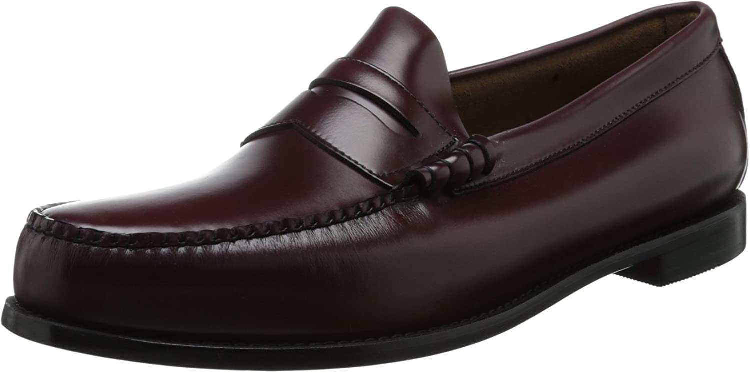 GH BASS AND CO Men's, Larson Slip on Loafer BURGUNDY 10 W