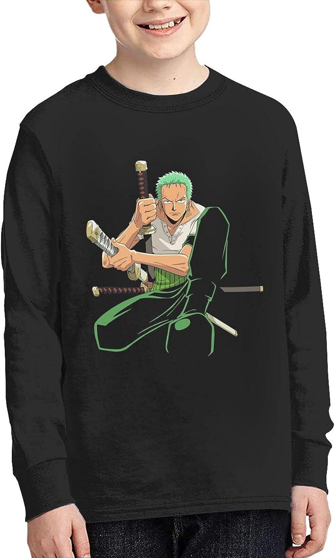 One Piece Roronoa Zoro T Shirts Young Adult Anime Classic Long S