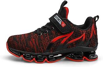 Zapatos Deportivos voladores para niños Durante Todo el año aplicable Malla Tela Transpirable Zapatos Casuales Baja Ayuda Antideslizante Suave Suela Ligera Zapatos de Correr Zapatos para Estudiantes
