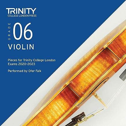 Trinity College London Violin Exam Pieces 2020-2023: Grade 6 CD