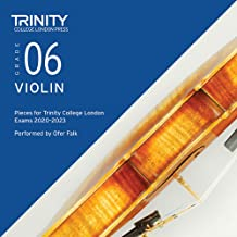 Trinity College London Violin Exam Pieces 2020 -2023: Grade 6 CD Only