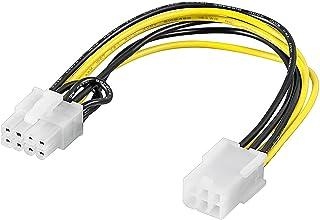 Connect PCI Express - Cable Adaptador de alimentación de 6 Pines a 8 Pines