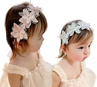 Baby Girl Super Elastic Headband Cotton Lace Infant Hair Band Toddler Children Hair Accessories