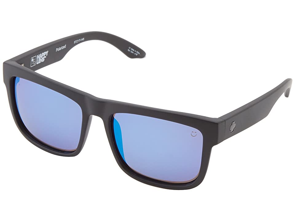 Spy Optic Discord (Matte Black/Happy Bronze Polar w/ Blue Spectra) Sport Sunglasses