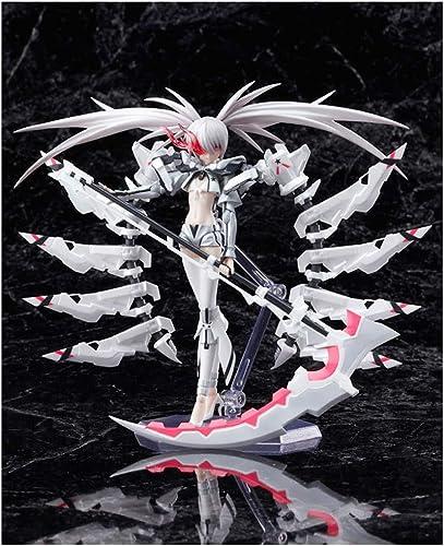 DJKFH Anime Boutique blanco Rock Shooter Maño Sexy Modelo PVC muñeca muñeca Conjunta muñeca muñeca Estatua Aniñación Artesanía añornos