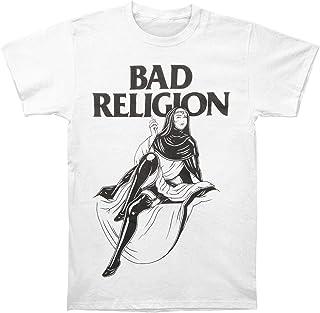 Camiseta de Manga Corta con gráfico de Hombre Monja Bad Religion para Hombre