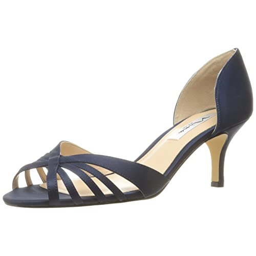 4a4420a4d098 Navy Evening Shoes  Amazon.com