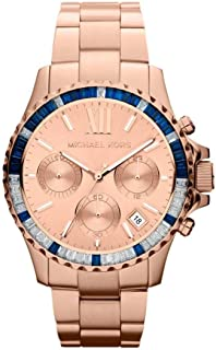 Michael Kors Everest Watch for Women - Analog Stainless Steel Band - MK5755