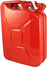 20 Liter (5.2 gallon) NATO Jerry Can for Gas, Diesel, Kerosense (RED)