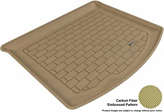 3D MAXpider Cargo Custom Fit All-Weather Floor Mat for Select Mazda3 Models - Kagu Rubber (Tan)
