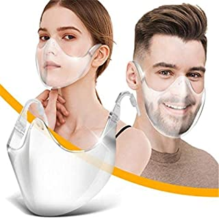 Radical Alternative Transparent Shield, Clear Designed Fashion Style & Comfort Cover, Man and Women Stylish Clear Shield f...