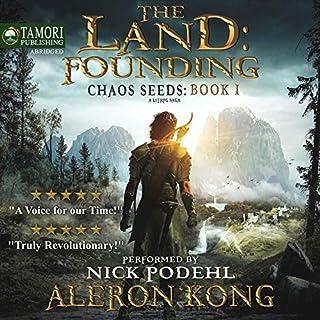 The Land: Founding: A LitRPG Saga     Chaos Seeds, Book 1              Autor:                                                                                                                                 Aleron Kong                               Sprecher:                                                                                                                                 Nick Podehl                      Spieldauer: 9 Std. und 49 Min.     170 Bewertungen     Gesamt 4,4