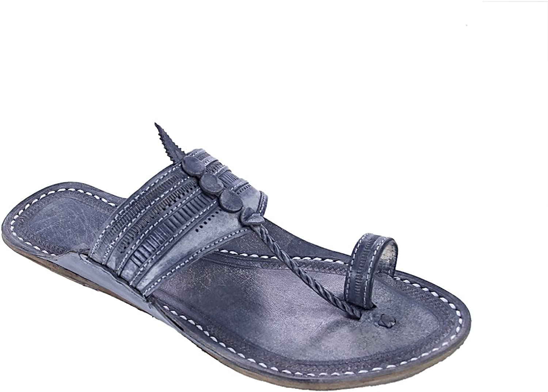 Urspspringaaaglig kolhaturi kolhaturi kolhaturi chappal Andanta grå slagmän Slipper sandal  vi tar kunder som vår gud