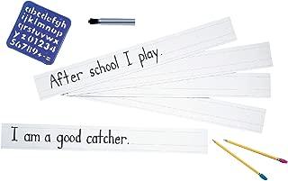 Zaner-Bloser Sentence Strips, 3 x 24 Inches, White, 100 Sheets - 085288