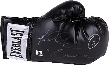 Riddick Big Daddy Bowe Signed Everlast Black Boxing Glove (Bowe Holo)