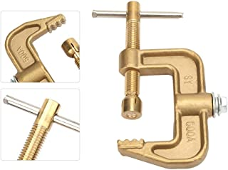 Welding Earth Clamp 500A Brass Material Classical G Shape Ground Welding Earth Clamp for Welding Machine
