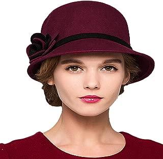 Maitose Trade; Women's Bow Wool Felt Bucket Hat