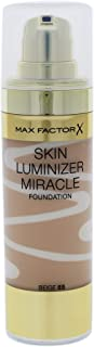 Max Factor Skin Luminizer Miracle Foundation, No. 47 Nude, 1 Ounce
