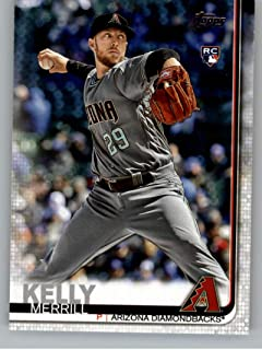 2019 Topps Update Baseball #US240 Merrill Kelly RC Rookie Card Arizona Diamondbacks Official