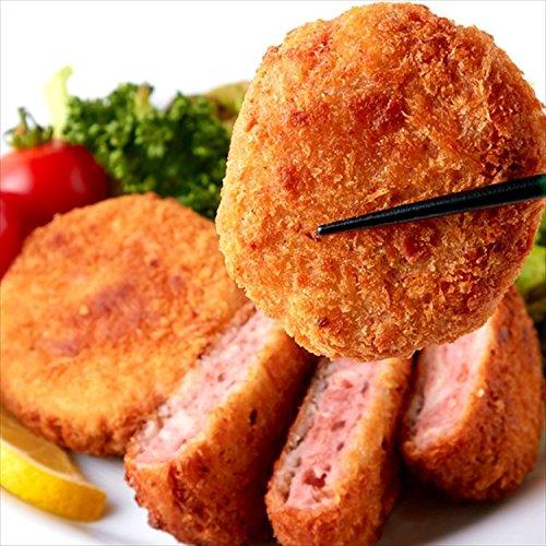 北海道製造!肉汁たっぷり ハムカツ 10枚800g/冷凍A