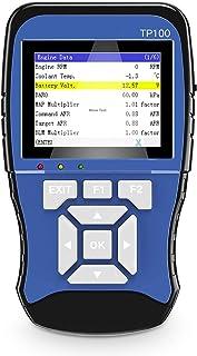 Scanner OBD/leitor de códigos de carro, sistema duplo de diagnóstico inteligente portátil com ABS, suporte SRS, dados ao v...