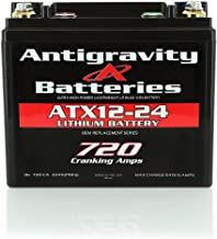 Antigravity Batteries YTX12-24 Extreme Power Lithium Motorsports Battery, LEFT NEG TERMINAL, OEM Replacement Series