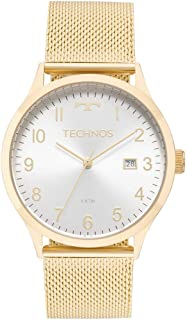 26ba52a30ecf9 Relógio Technos Feminino Ref  2115mnk 4k Casual Dourado
