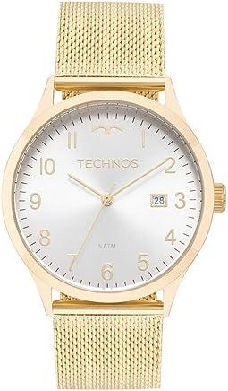 46c6e706ceb Relógio Technos Feminino Ref  2115mnk 4k Casual Dourado