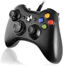 Diswoe Xbox 360 Mando de Gamepad, Controlador Mando USB de
