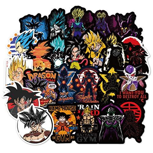 Les 150 autocollants Dragon Ball Z