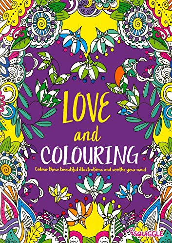 2 Quality Adult Colouring Books Colour Therapy Anti-Stress Books