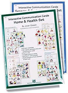 Interactive Communication Cards: Home and Health Set