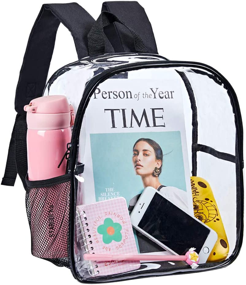 Stadium Approved Clear Translated Mini Backpack Heavy Back Transparent Fashion Duty