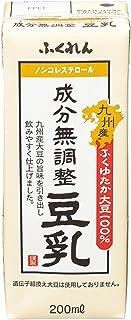 ふくれん 九州産ふくゆたか大豆成分無調整豆乳 200ml×24個