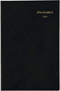 AT-A-GLANCE 2020 Weekly & Monthly Pocket Diary, Fine Diary, 2-3/4