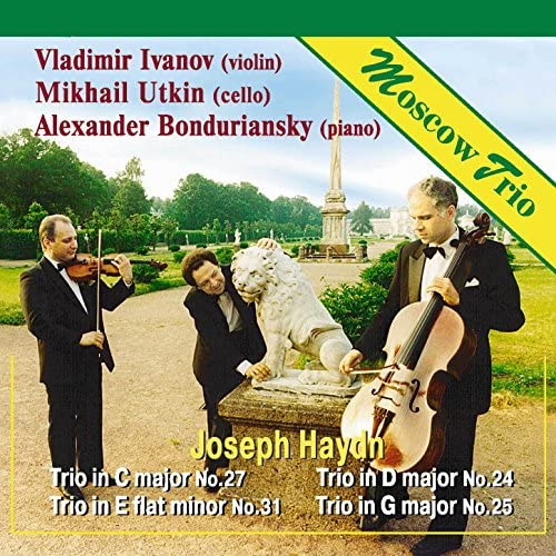 Moscow Trio: Vladimir Ivanov, Mikhail Utkin & Alexander Bonduriansky