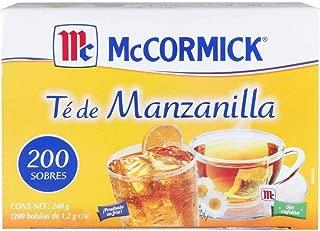 McCORMICK Té de Manzanilla 200 sobres