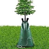 Bolsa de Riego de Árboles ,Alta Capacidad PVC para Automatico Plegable Goteros Riego Sistema , para Plantas Árboles Jardín 75L