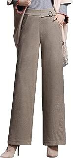 Women Thick High Waist Loose Pants Wide Leg Lounge Palazzo Pants