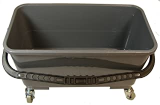 Golden Star MBU16GWT Microfiber Bucket with Wheels and Pad Tray 20