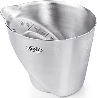 OXO Steel Angled Measuring Jigger - Silver