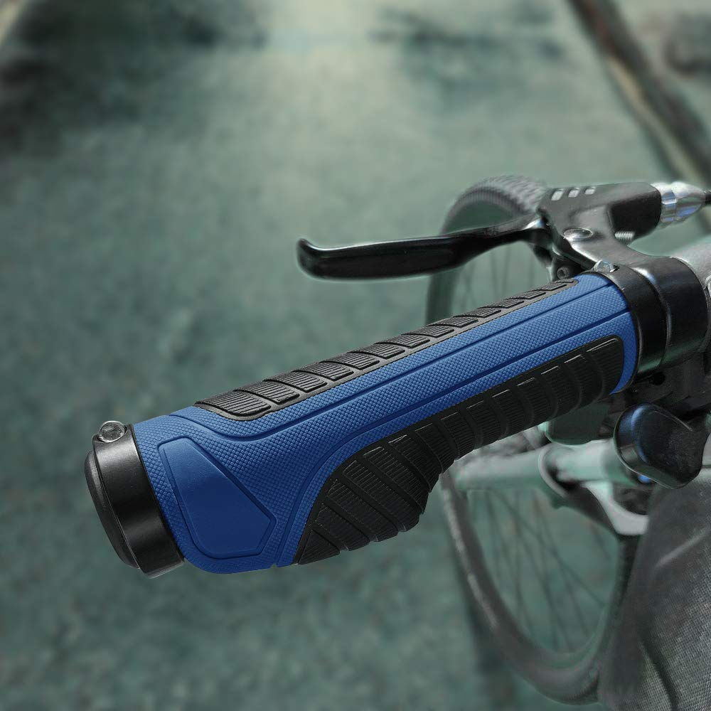 Pu/ños para manillar de bicicleta con doble bloqueo KOMODO